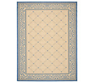 Safavieh Courtyard Lattice Flower 67 x 96 Rug - H179006