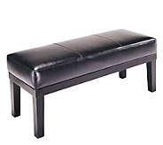Black Simulated Leather Bench by Acme Furniture - H181606