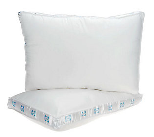 Sealy Posturepedic MaxiLoft Set of 2 Gusset Pillows — QVC.