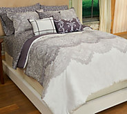 Home Reflections Alana 10-pc Cotton Comforter Set - H205706