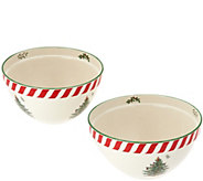 Spode Christmas Tree 8 & 9 Mixing Bowl Set - H208806