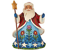 Jim Shore Heartwood Creek Pint Size Santa Figurine - H209206