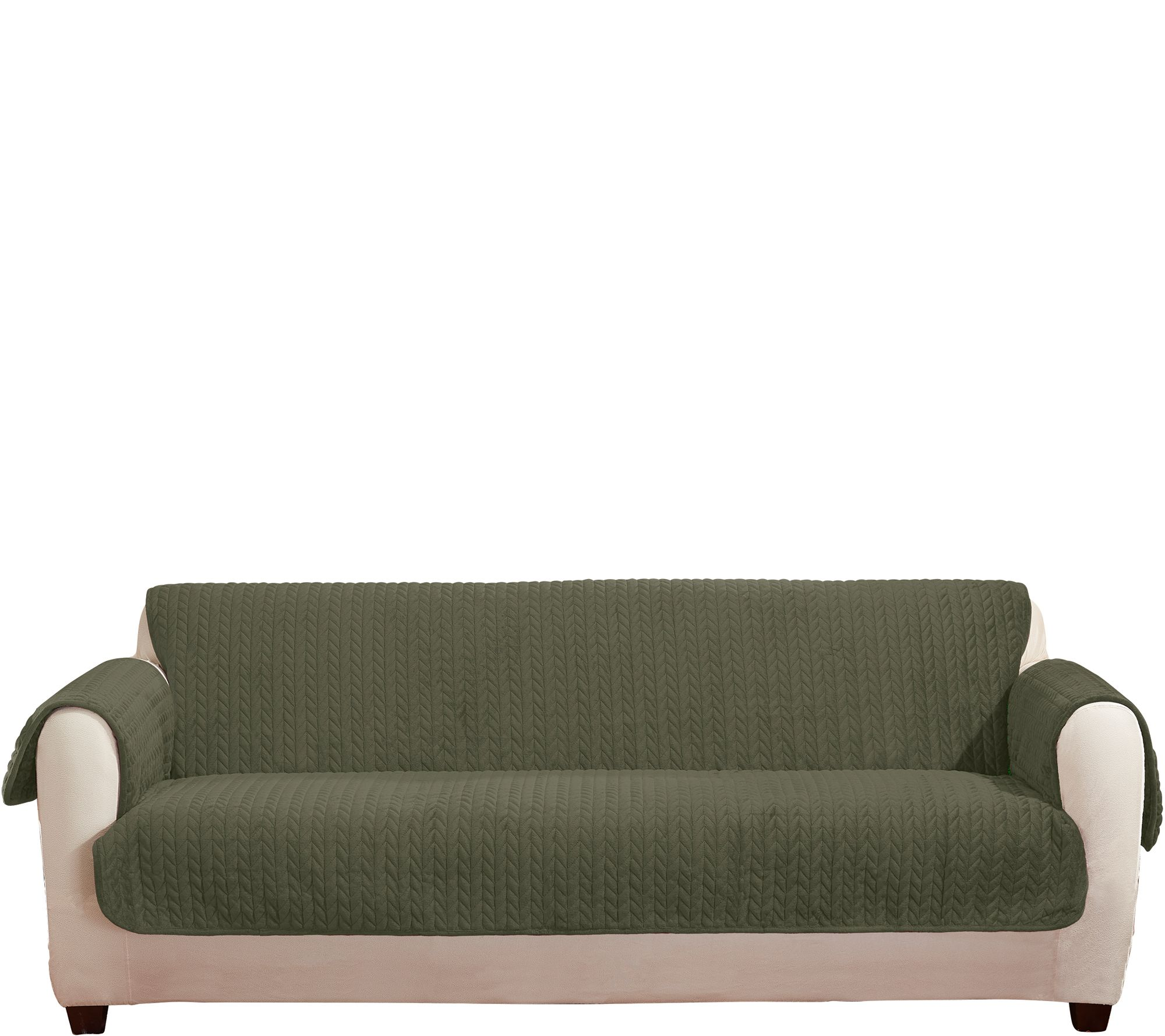 Sure Fit — For the Home — QVC.com : sure fit quilted cotton furniture friends - Adamdwight.com