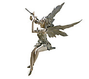 Design Toscano Fairy of the West Wind Musical Garden Sculptur - H284406