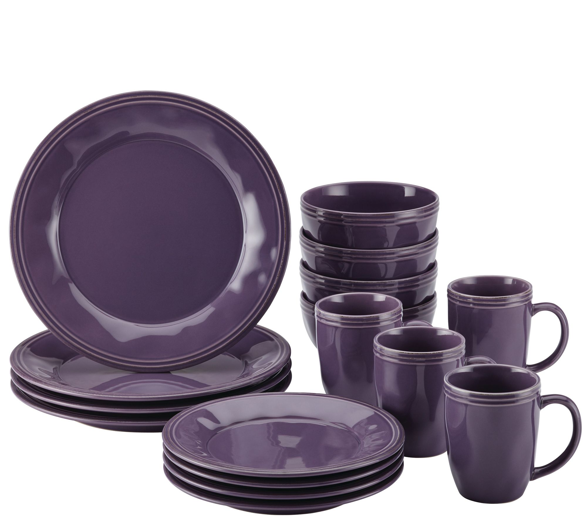 Rachael Ray Cucina 16-Piece Stoneware Dinnerware Set - Page 1 ...