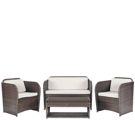 Safavieh Caprina 4 Piece Outdoor Set H286206
