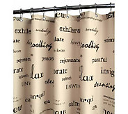 Watershed 2-in-1 Resort 72x72 Shower Curtain - H356906
