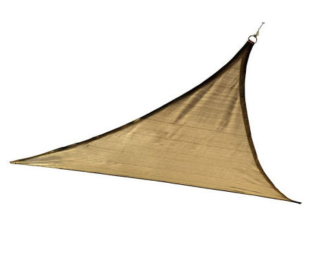 ShelterLogic 12x12 Triangle Outdoor Sun Shade Sail