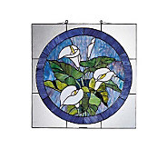 Tiffany Styled Lily Window Panel - H108607