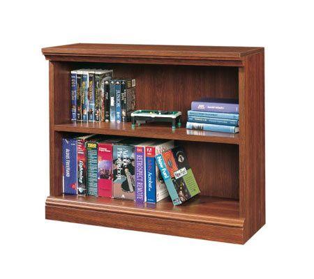 Sauder Camden County Collection Cherry Finish 2 Shelf