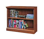 Sauder Camden County Collection Cherry Finish 2-Shelf Bookcase - H116207