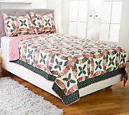 Eve Holiday 100Cotton Twin Quilt Set with Sham - H205707