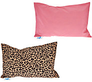 MyPillow Roll & Go Set of 2 Pillows with Pattern Options - H210307