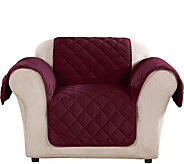 Sure Fit Chair Plush Comfort Waterproof Furniture Cover - H212307