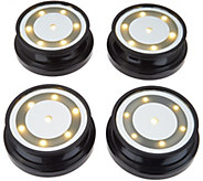 Set of 4 Light Spots with Timers by Valerie - H213807