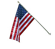 Annin Estate 6 Spinning Flag Pole w/3 x 5 Nyl-Glo US Flag - H282207