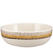 Rachael Ray Ikat Stoneware 10 Round Serving Bowl - H296207