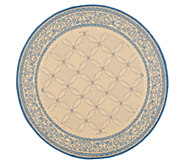 Safavieh Courtyard Lattice Flower 53 Rug Round - H179008
