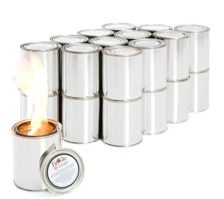 24 Cans Of Fireglo Gel Fuel 16 Oz