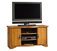 Sauder Harvest Mill Entertainment Credenza - Oak Finish - H182508