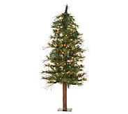 3 Mixed Country Alpine Tree w/ Clear Lights byVickerman - H183408
