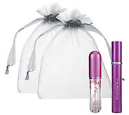 As Is Refillable Perfume Rollerball Set By Lori Greiner - H203308
