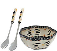 Temp-tations Old World Salad Bowl with Servers - H204208