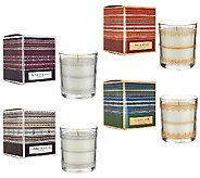 ED On Air Set of 4 Candles w/ Gift Boxes by Ellen DeGeneres - H206808