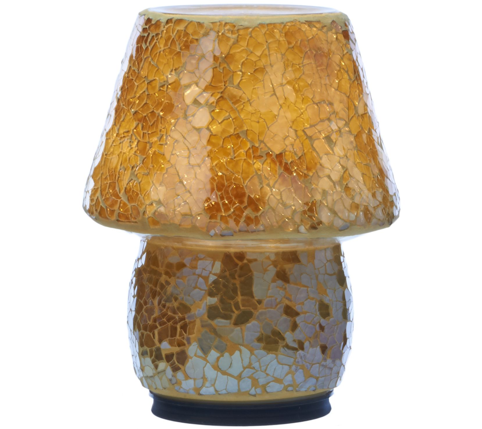 Mosaic Illuminated Indoor/Outdoor Accent Lamp By Valerie   Page 1 U2014 QVC.com
