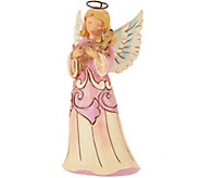 Jim Shore Heartwood Creek Pint Size Angel with Dog Figurine - H210808
