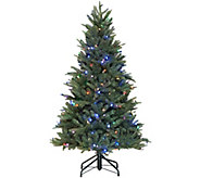 Santas Best 5 RGB Blue Spruce Tree with 64 Functions - H213208