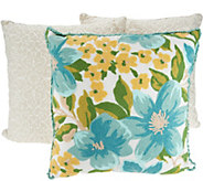 Vivere Home Set of 3 Decorative Chainstitch Throw Pillows - H214208