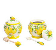 Temp-tations Figural Fruit Jam and Honey Jar - H288808