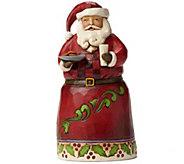 Jim Shore Heartwood Creek Pint-Sized Santa withCookies - H290208