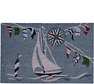 Waverly Greetings Sailing 2 x 3 Accent Rug byNourison - H294908