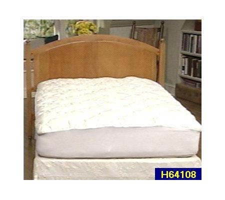 Full Size Pillow Top Mattress Pad — QVC