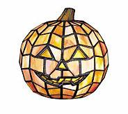 Tiffany Style 7H Jack-O-Lantern Lamp - H68208