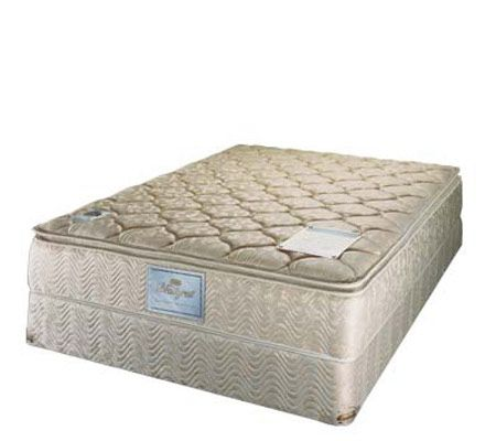 Beautyrest Cadenza Split Queen Mattress Set — QVC
