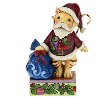 Jim Shore Heartwood Creek Pint Sized Christmas Cat