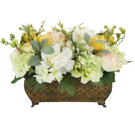 Bethlehem lights regal vintage floral arrangement page 1 for Arrangement petite cuisine