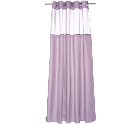 Hookless High Point Linen 3 In 1 Shower Curtain