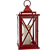 Luminara 18 Lexington Lantern with Flameless Candle & Remote - H209409