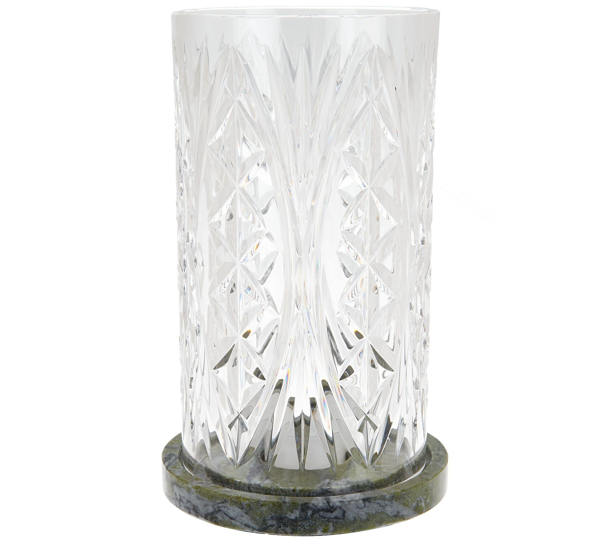 Waterford and connemara marble cylinder hurricane page 1 qvc reviewsmspy