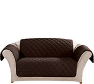 Sure Fit Loveseat Plush Comfort Waterproof Furniture Cover - H212309