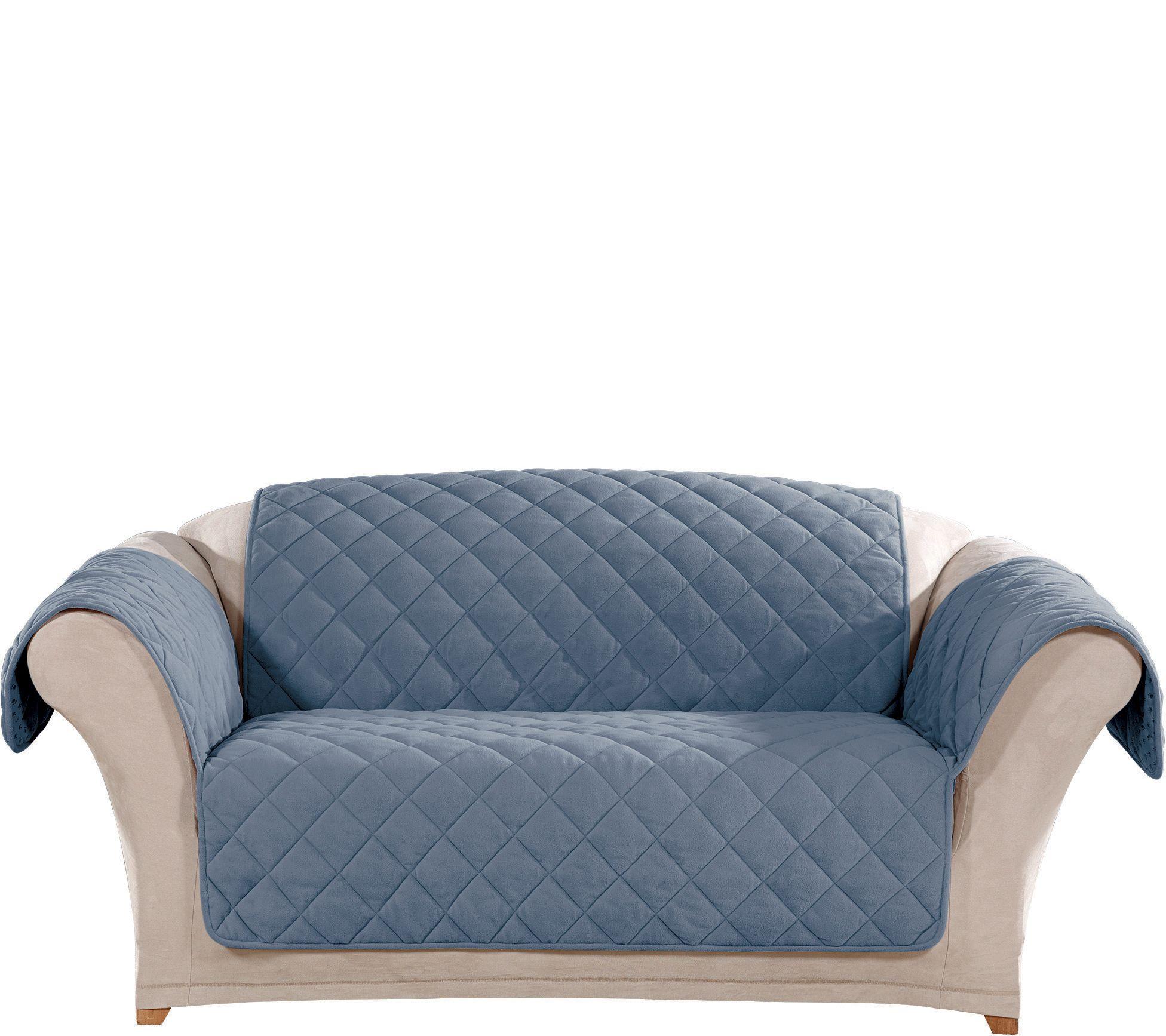 sure fit loveseat plush comfort waterproof furniture cover page 1 u2014 qvccom