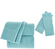 Malden Mills Polarfleece King Sheet Set with Extra Pillowcases - H212709