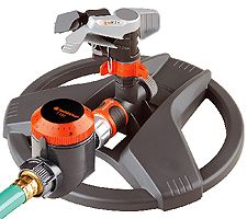 Gardena Fullpart Circle Pulse Sprinkler With Water Timer image