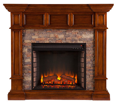 Mason Electric Convertible Fireplace H — QVC