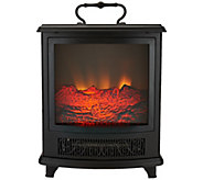 Duraflame Portable Stove Heater with Handle & Flame Effect - H293209