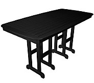 POLYWOOD Nautical 37 x 72 Counter Table - H349909